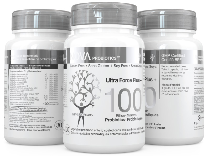 NOVA Probiotics Ultra Force Plus 100 Billion